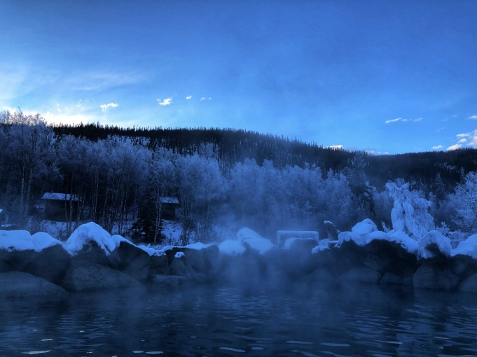 (Chena Hot Springs. iPhone X, edited with Snapseed. All Rights Reserved.)